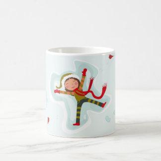 Snow Angels Wintertime Fun Mug