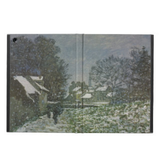 Snow at Argenteuil by Claude Monet, Vintage Art Cover For iPad Air