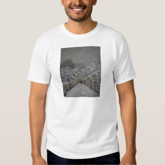 Snow at Louveciennes by Alfred Sisley Tees