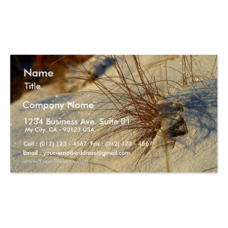 Snow At Sunrise At The Rim Of Bryce Canyon Double-Sided Standard Business Cards (Pack Of 100)