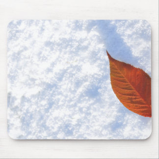Snow background mousepads