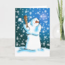 Snow Ball Greeting Cards