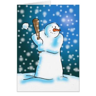 Snow Ball Card