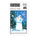 Snow Ball Postage Stamps
