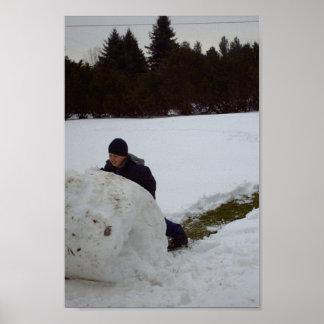 Snow Ball Poster
