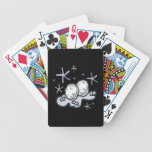 Snow Balls Bicycle Poker Cards