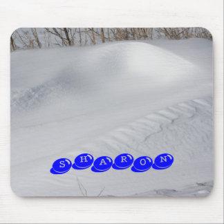 SNOW BANK NAME Mousepad