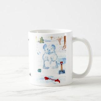 """Snow Bear""  CricketDiane Coffee Art Coffee Mug"