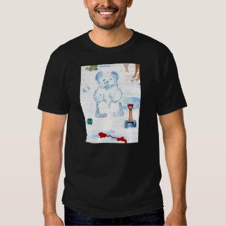 """Snow Bear""  CricketDiane Coffee Art T-shirt"