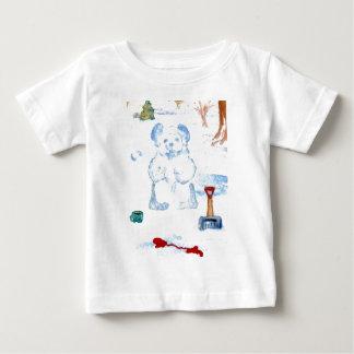 """Snow Bear""  CricketDiane Coffee Art Tee Shirt"