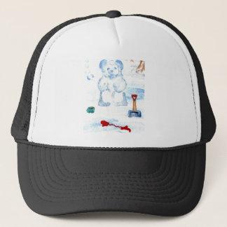 """""""Snow Bear""""  CricketDiane Coffee Art Trucker Hat"""