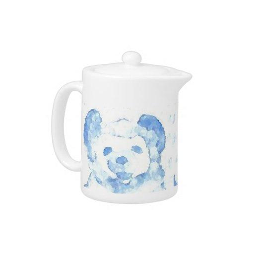 Snow Bear Home Decor Tableware Teapot