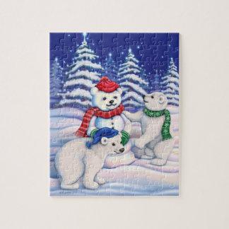 Snow Bears Jigsaw Puzzle