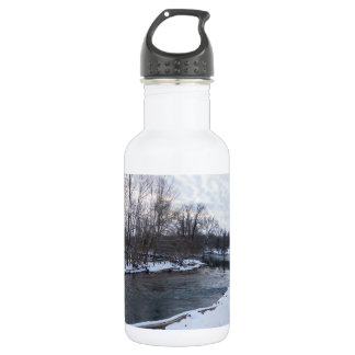 Snow Beauty James River Stainless Steel Water Bottle