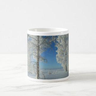 Snow Birches Coffee Mugs