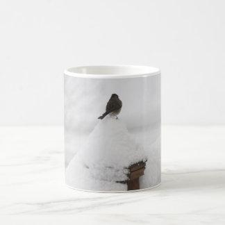 Snow-bird in a Snowstorm Mug