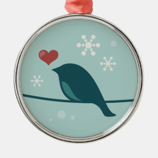 Snow Bird Christmas Tree Ornaments