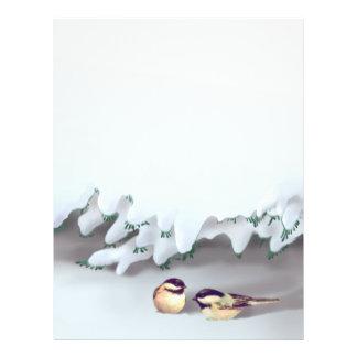 SNOW BIRDS by SHARON SHARPE Custom Flyer