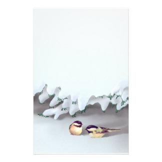 SNOW BIRDS by SHARON SHARPE Stationery