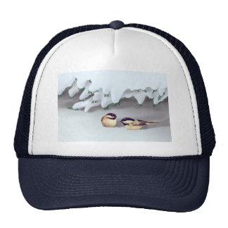 SNOW BIRDS by SHARON SHARPE Trucker Hat