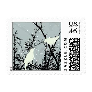 Snow Birds Postage Stamps