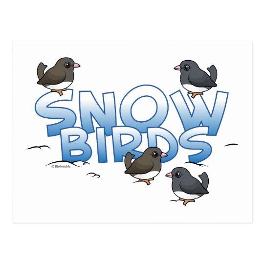 Snow Birds Postcard