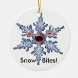 Snow  Bites Ornament