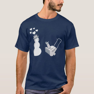 Snow Blower T-Shirt