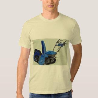 Snow blower tee shirt