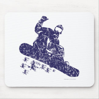 Snow-Boarder Mouse Pad