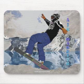 SNOW BOARDER Winter Sports Fun Mousepad