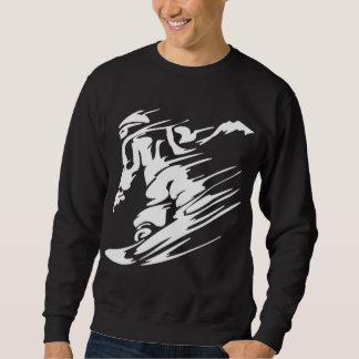Snow Boarding Extreme Sports Pullover Sweatshirt