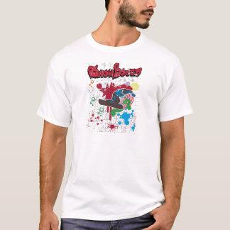 Snow boarding grunge T-Shirt