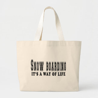 Snow Boarding It's way of life Bag
