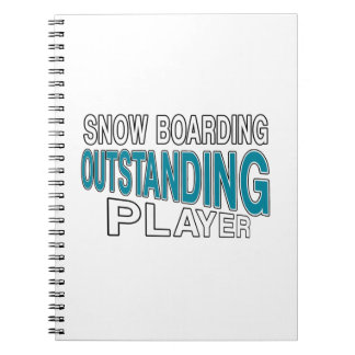 SNOW BOARDING OUTSTANDING PLAYER NOTEBOOK