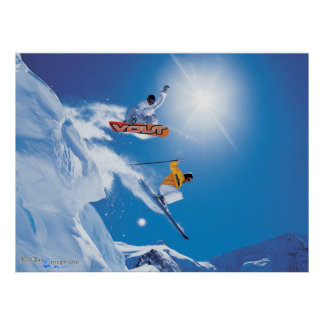 Snow Boarding poster