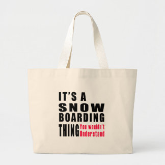 Snow Boarding Thing Designs Canvas Bag