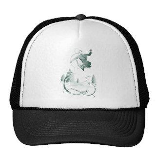 Snow Boarding Trucker Hat