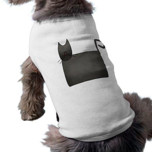 Snow Bobbins · Black Cat Dog Tee
