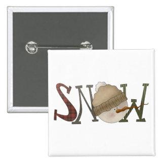 Snow Bobbins · Snow Button