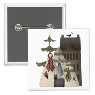 Snow Bobbins · Snowfamily House Pins