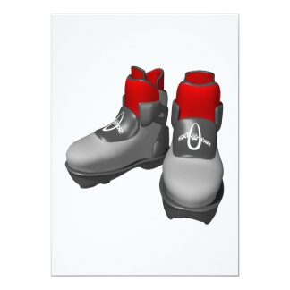 Snow Boots Card
