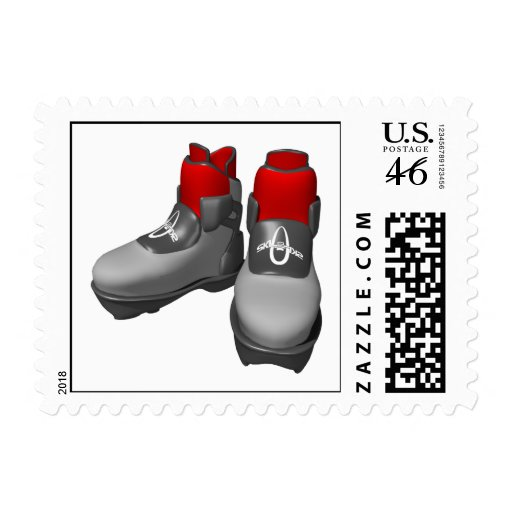Snow Boots Stamps