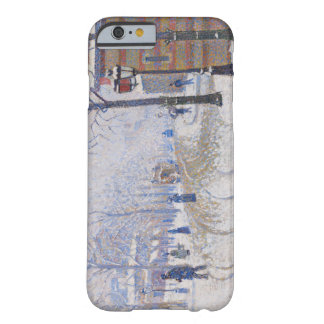 Snow, Boulevard de Clichy, Paris, 1886 Barely There iPhone 6 Case