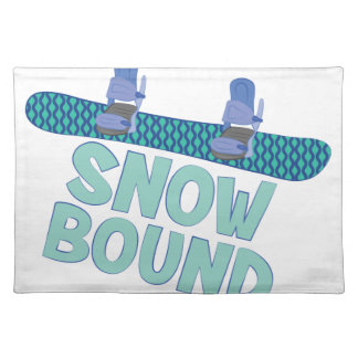 Snow Bound Cloth Placemat