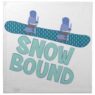 Snow Bound Napkin