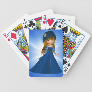 Snow Bride Playing Cards