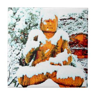 snow buddha tile