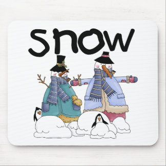 Snow Buddies Tshirts and Gifts Mouse Pad