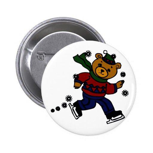 Snow Buddy 2 Inch Round Button